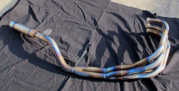 画像2: CANDY LIFE オリジナルエキゾースト EXCEED管(オールチタン製)