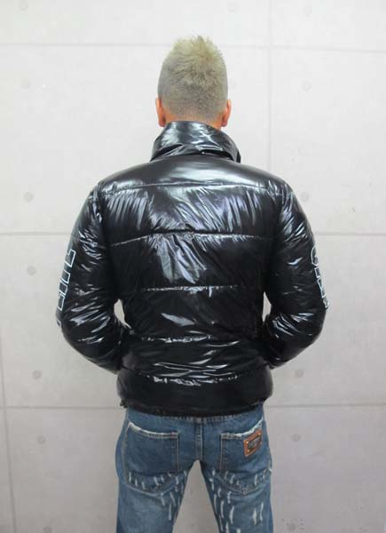 画像2: CANDYLIFE 中綿リバーシブルジャケット(黒x迷彩)