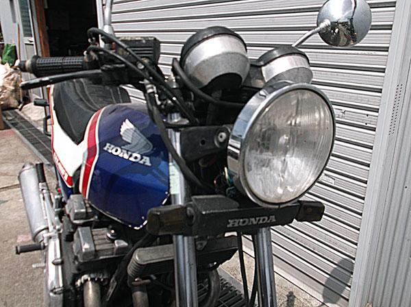 画像4: HONDA CBX400F 青白 通関証