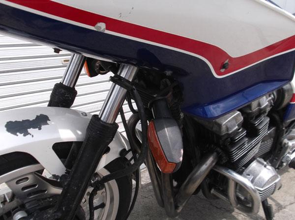 画像3: HONDA CBX400Fインテグラ 青白 通関証