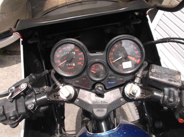 画像3: HONDA CBX400Fインテグラ外装色違い 通関証 社外マフラー