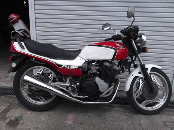 画像3: HONDA CBX400F 赤白 通関証