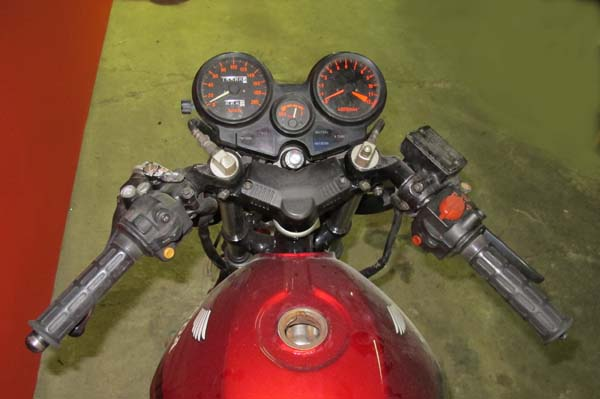 画像2: HONDA CBX400F (製作中)