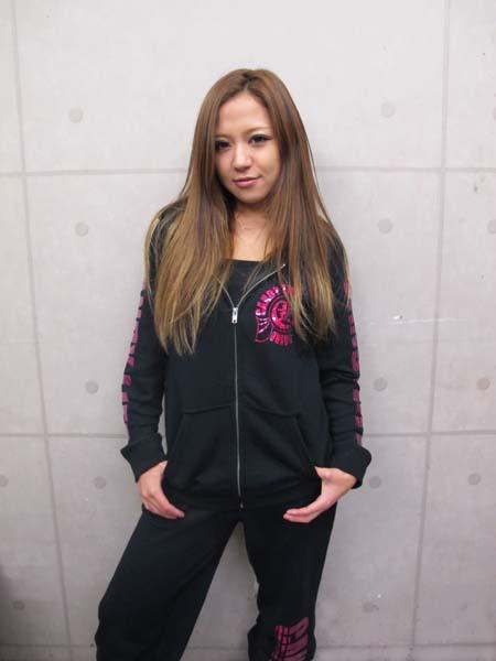 画像1: CANDYLIFE JAPANESEPRIDE ホログラムパーカー(ピンク)