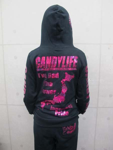 画像4: CANDYLIFE JAPANESEPRIDE ホログラムパーカー(ピンク)