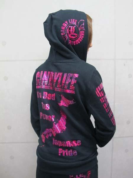 画像5: CANDYLIFE JAPANESEPRIDE ホログラムパーカー(ピンク)