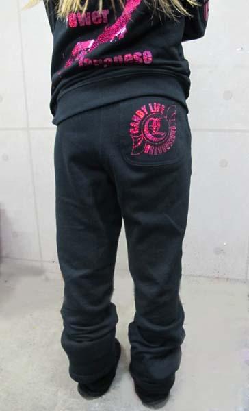 画像2: CANDYLIFE ロゴホログラムパンツ(ピンク)