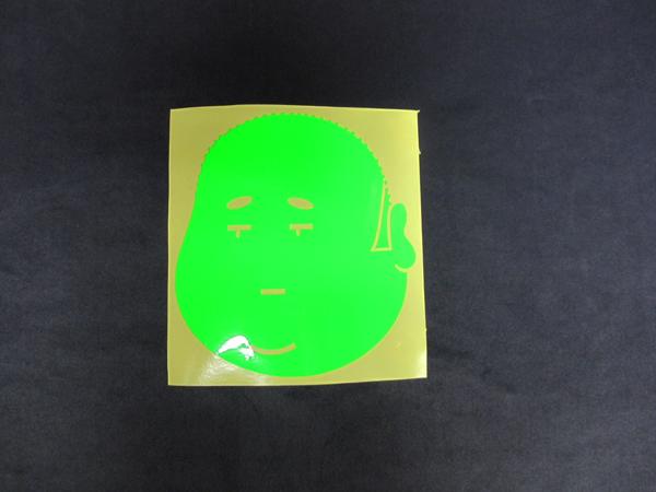 画像1: ジュンジDX 蛍光ステッカー(小)