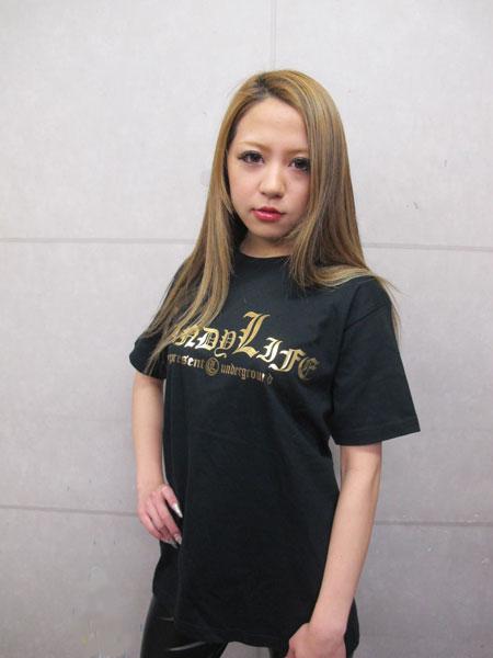 画像2: キャンディーマークTシャツ(金)