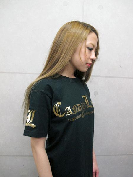 画像3: キャンディーマークTシャツ(金)