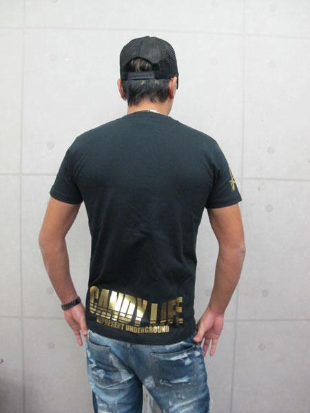 画像4: CANDYLIFE ロゴTシャツ(金)