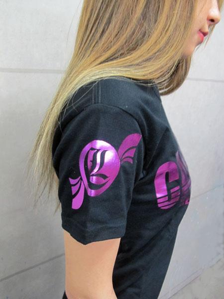 画像3: CANDYLIFE ロゴTシャツ(ピンク)