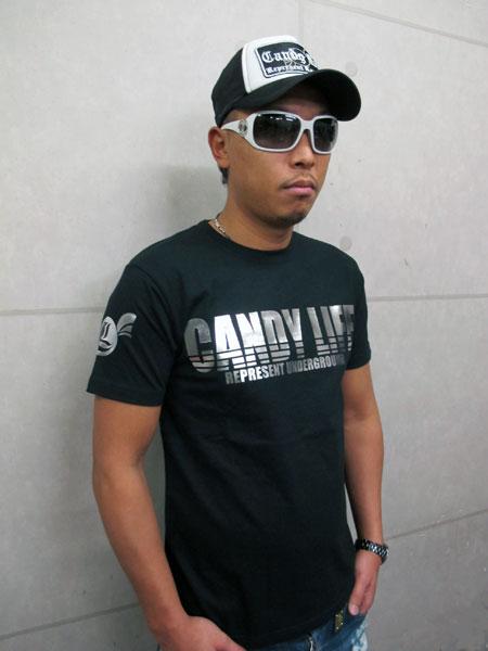 画像2: CANDYLIFE ロゴTシャツ(銀)