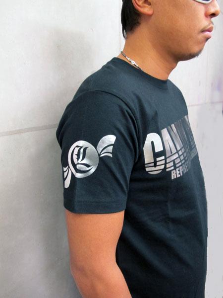 画像3: CANDYLIFE ロゴTシャツ(銀)