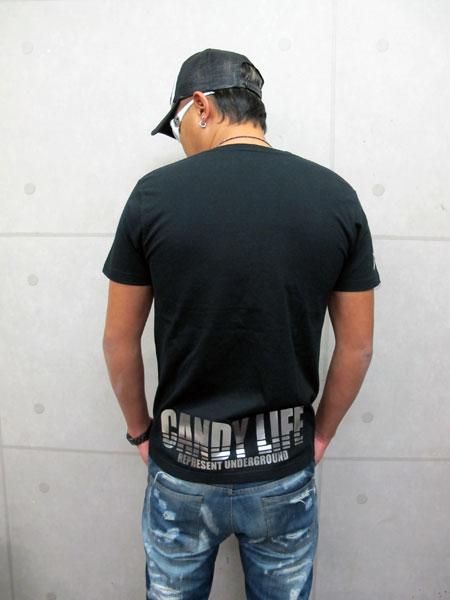 画像4: CANDYLIFE ロゴTシャツ(銀)