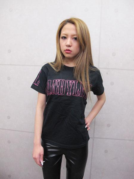 画像1: ネイルスタッツ ロゴTシャツ(ピンク)