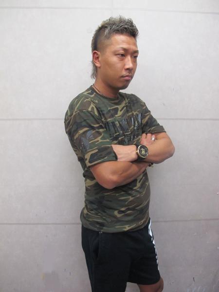 画像3: CANDYLIFE 迷彩Tシャツ(黒)