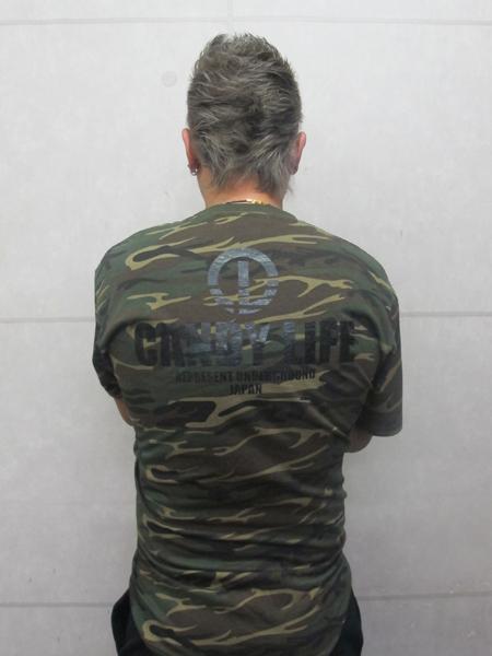 画像4: CANDYLIFE 迷彩Tシャツ(黒)