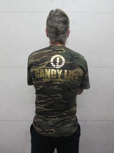 画像3: CANDYLIFE 迷彩Tシャツ(金)