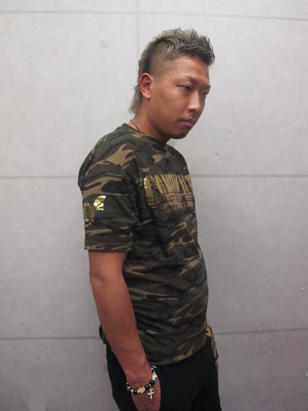 画像2: CANDYLIFE 迷彩Tシャツ(金)